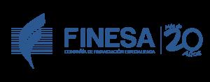 Logo Finesa 20 Años - Final Azul-01
